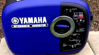 9. Yamaha EF2000is 2000 Watt Portable Generator Honest Review 2017