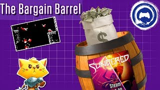 Shifting through the barrel this week we find a game that's pretty catty about it's jokes, a game about a rad pair of shoes that ...