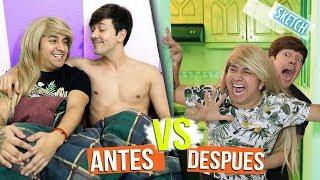 Video Antes VS después de ser novios | Roger Gonzalez | Mario Aguilar MP3, 3GP, MP4, WEBM, AVI, FLV Agustus 2018