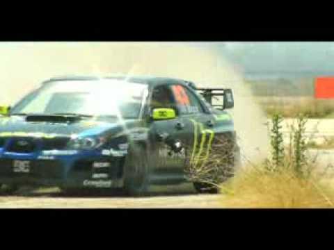 Subaru WRX STI Кен Блок король дрифта №2