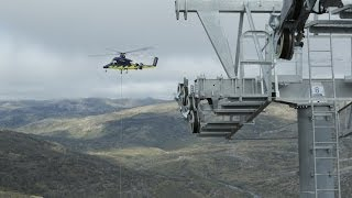 The construction of Freedom: Perisher's new Freedom Chairlift
