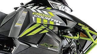 1. TEST RIDE: 2017 Arctic Cat XF 8000 Cross Country