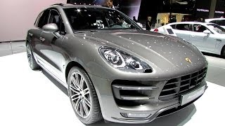 2014 Porsche Macan Turbo - Exterior and Interior Walkaround - 2014 Geneva Motor Show