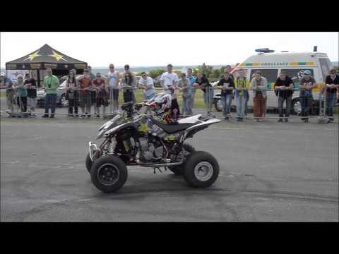 Car Wars Opening 2015 - Richard Mošna - Quad Stunt Show
