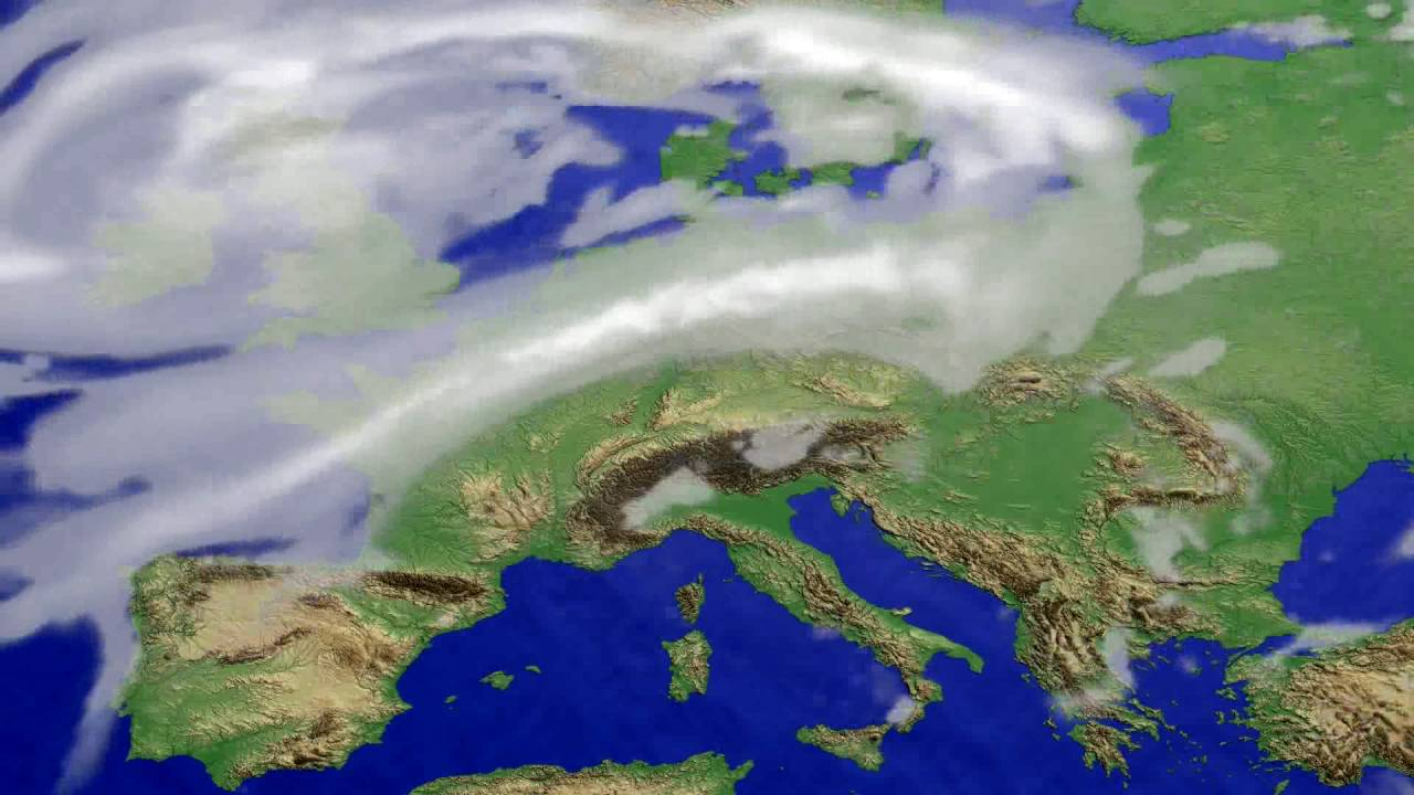 Cloud forecast Europe 2016-08-01