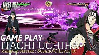 Video NxB NV - itachi uchiha vs majestic attire : susano' O level 40 - surprise attack mission no. 10 MP3, 3GP, MP4, WEBM, AVI, FLV Desember 2018