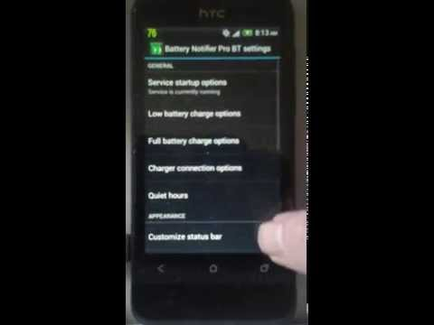 Video of Battery Notifier Pro BT