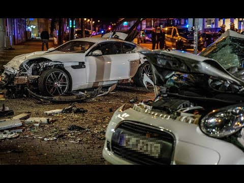 Drama in Stuttgart: Raser rammt Kleinwagen - zwei Tote