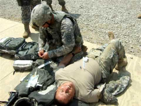 medic - training the fundamentals of a typical army