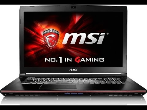 MSI Apache GE72 6QC-048NL Gaming Notebook Unboxing