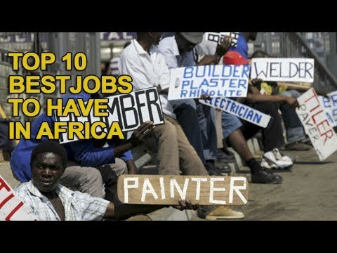 Top 10 Best Paying Jobs to have in Africa