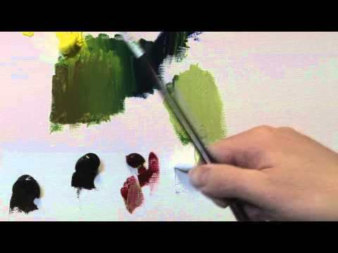 How To Mix Green Paint
