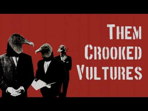 Them Crooked Vultures y 'Mind Eraser, No Chaser'