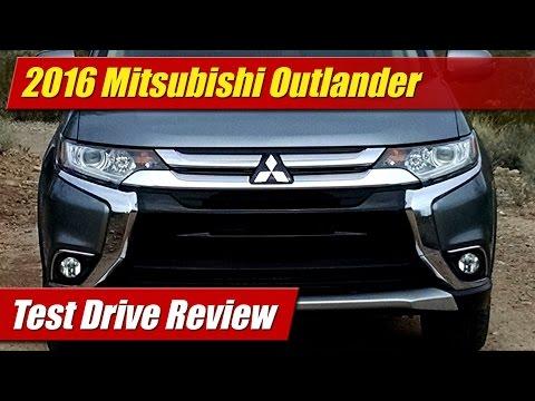 2016 Mitsubishi Outlander: Test Drive