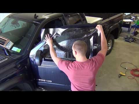 Professionally Tinting a 2007 Chevy Silverado