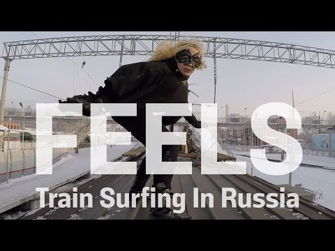 Train Surfing in Russia
