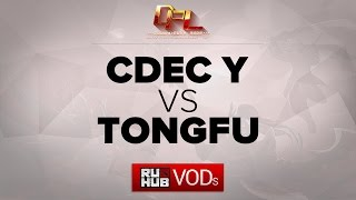 TongFu vs CDEC.Y, game 2