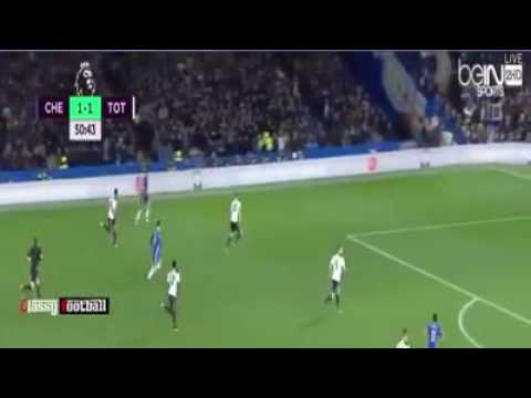 Moses' goal against spurs for chelsea 2016. 2-1