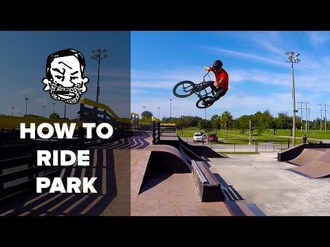 BMX Basics - 7 Skatepark Skills