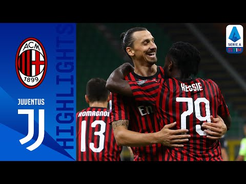 Milan 4-2 Juventus   Ronaldo Goal Not Enough as Milan Stun Serie A Leaders!   Serie A TIM