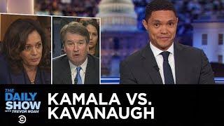 Kamala Harris Brings the Heat at Kavanaugh Hearing | The Daily Show