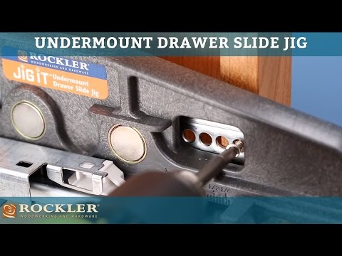 Rockler Undermount Drawer Slide Jigs