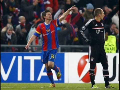 Zebra 'ataca' na Suíça, e Basel vence o Bayern de Munique.wmv