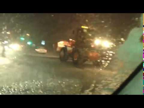 ДТП в Южно-Сахалинске утром 27 января (видео)
