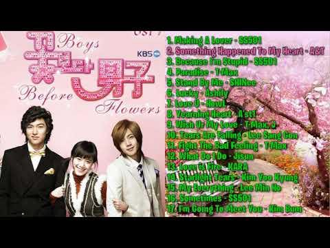 BEST OST DRAMA KOREA/KOREAN DRAMA BBF (BOYS BEFORE FLOWERS) FULL ALBUM (LA_KHILDA)