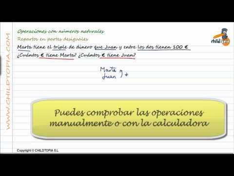 Vídeos Educativos.,Vídeos:Problemas numeros naturales 1