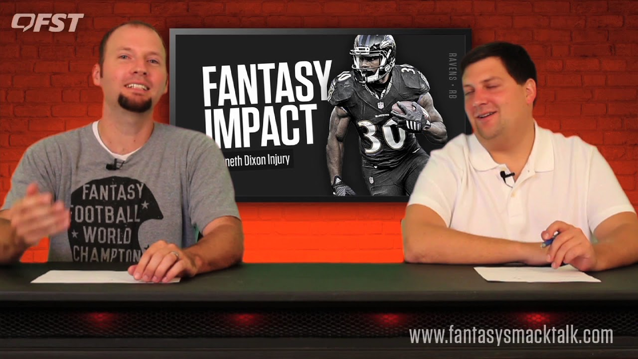Impact of the Kenneth Dixon Injury 2017 Fantasy Football thumbnail