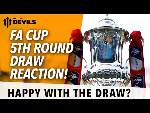 North - Adam gives us his reaction on the FA Cup 5th Round Draw. Depending on whether we can beat Cambridge or not, it's either Sheffield United or Preston North End we could be facing. Subscribe,...