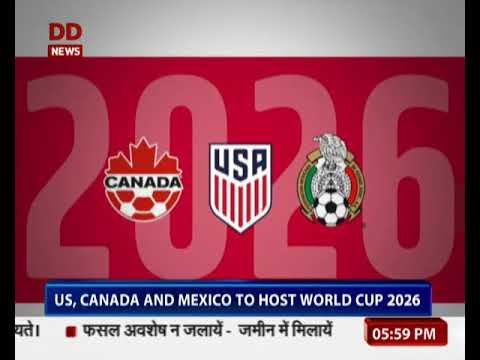 U.S., Mexico and Canada win bid to host FIFA World Cup 2026