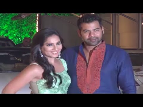 Shabbir Ahluwalia & Kanchi Kaul @ Shilpa Shetty's
