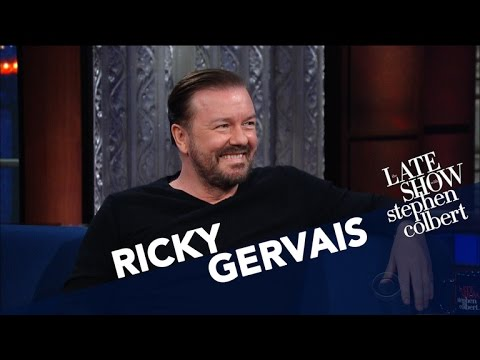 Ricky Gervais And Steph