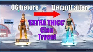 I Secretly Tried Out For MY OWN Fortnite Clan and I Didn't Get In...Extra Thicc Clan