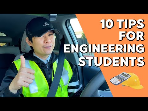 10 TIPS TO BECOME A SUCCESSFUL ENGINEERING STUDENT (English Subtitle)