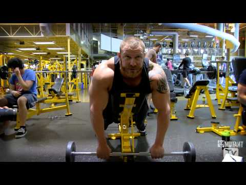 front delt - In this episode, Trevor shows us one of his staple front delt exercises.