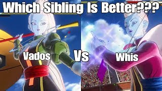 As always thank you guys for watching I hope you guys enjoyed this character test between whis and vados let me know your thoughts on the video down below as well as who you think is better between whis and vados or if you think one is better but like playing as the other more and as always leave votes and suggestions for future character tests down below!Reaction Channel: https://www.youtube.com/channel/UCp_5SaZkHPAsMt3Pgi9QNOATwitch:https://www.twitch.tv/ssjcabby28Twitter:https://twitter.com/Ssjcabby28