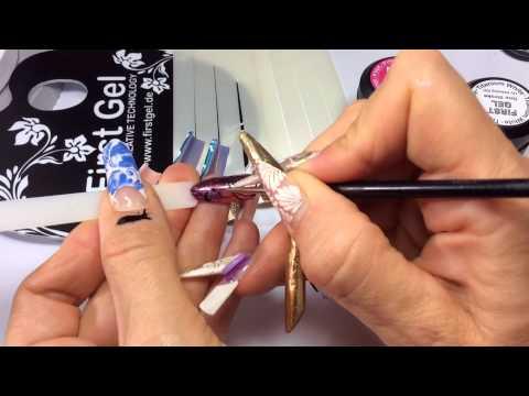 FINX Nail Art mit FIRST Gel