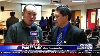 Suab Hmong News:  Michael Yia Thao gives back to the Minnesota Hmong Community