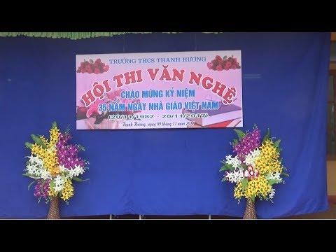 Hội thi văn nghệ của học sinh trường THCS Thanh Hương mừng ngày nhà giáo Việt Nam 20 11 2017