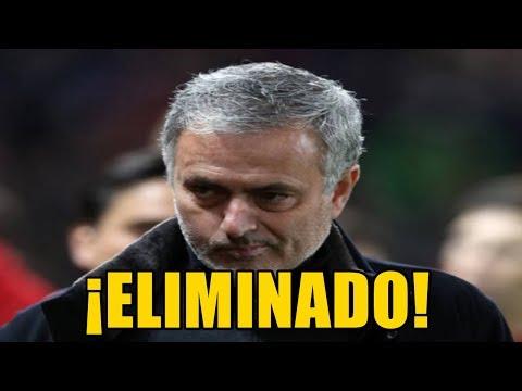 ¡EL SEVILLA ECHA DE LA CHAMPIONS AL MANCHESTER UNITED DE MOURINHO (1-2)!