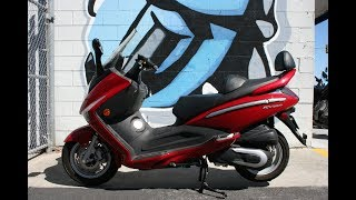 8. 2008 Sym RV250 Scooter ... Great Freeway Legal Scoot!