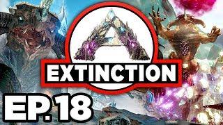 ARK: Extinction Ep.18 - GATHERING RAPTOR CLAUS PRESENTS, UPGRADING BASE! (Modded Dinosaurs Gameplay)