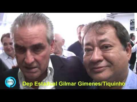 Gilmar Gimenes é Ovacionado na Câmara Municipal de Fernandópolis