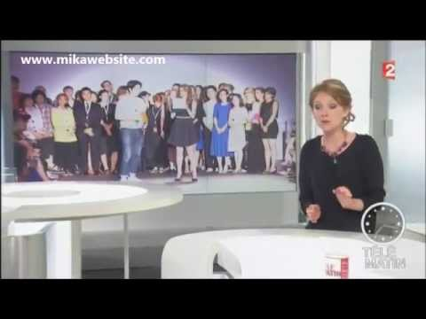 Mika - Reportage concours « International Talent Support » - Télématin - France 2