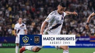 Video HIGHLIGHTS: LA Galaxy vs. LAFC | August 24, 2018 MP3, 3GP, MP4, WEBM, AVI, FLV September 2018