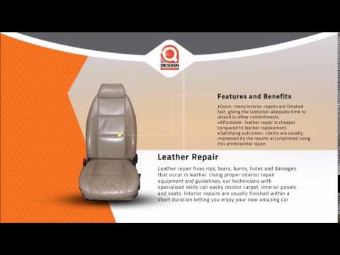 Qdesign Auto Center - Leather Repair