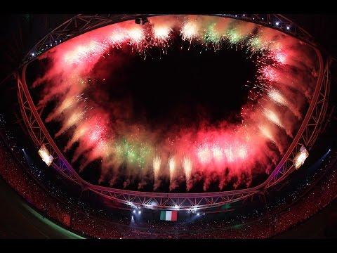 Peta obletnica najmodernejšega stadiona v Italiji (video)